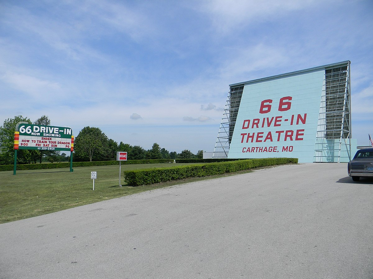 Route 66 drive in carthage mo showtimes