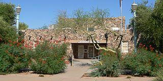 Casa Grande Womans Club Building historic clubhouse in Casa Grande, Arizona, USA