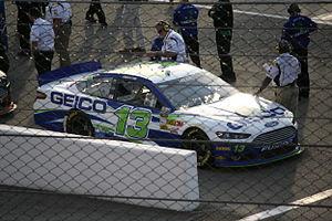Germain Racing - The No. 13 driven by Casey Mears at the 2013 Toyota Owners 400.