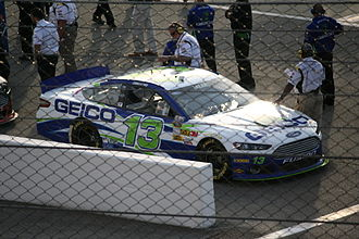 Casey Mears - Mears' 2013 Cup car