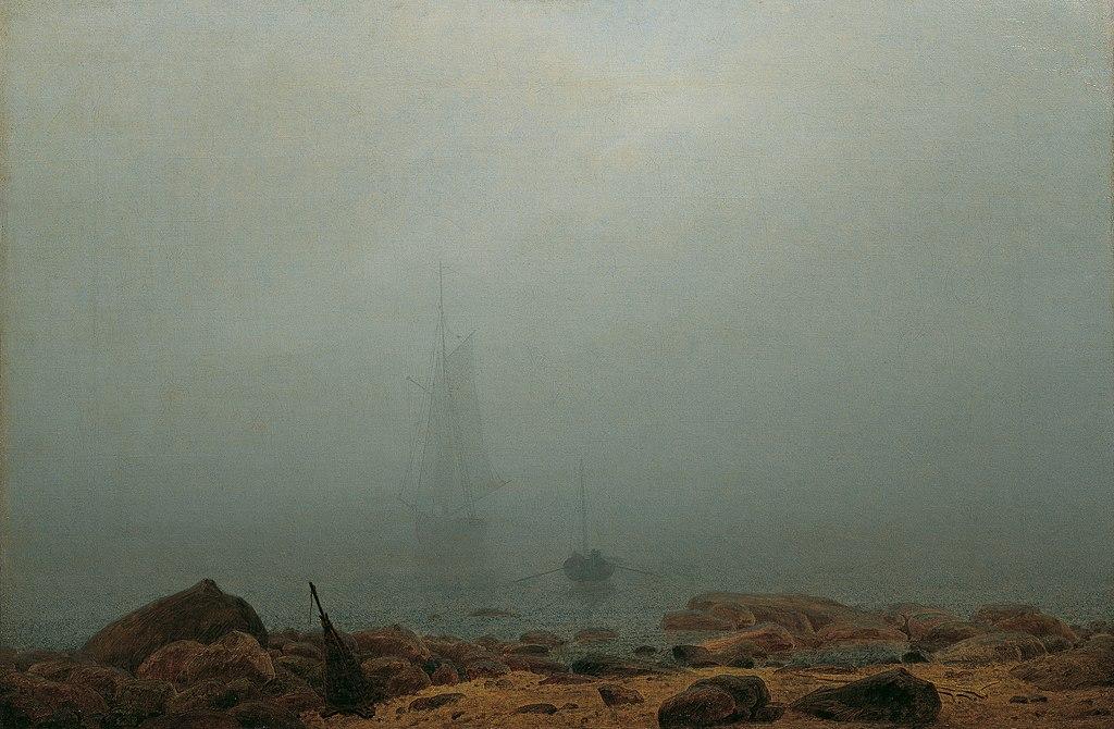 Caspar David Friedrich - Meeresstrand im Nebel (ca.1807).jpg