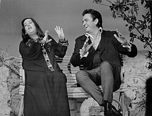 Cass Elliot - Elliot with Johnny Cash, 1969