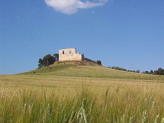 Gravina in Puglia - The ruins of Frederick II's castle in Gravina in Puglia.