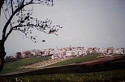 Castelluccio dei Sauri from southeast.jpg