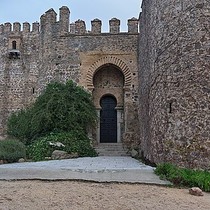Castle of San Servando - Portal