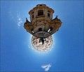 Catedral de Murcia - Vista Norte desde el balcón de los conjuratorios - Panorámica polar.jpg
