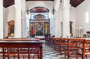 Catedral Nuestra Señora de La Asunción - Interior view.