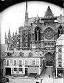 Cathédrale Notre-Dame - Abside, côté nord, en hauteur - Reims - Médiathèque de l'architecture et du patrimoine - APMH00030310.jpg