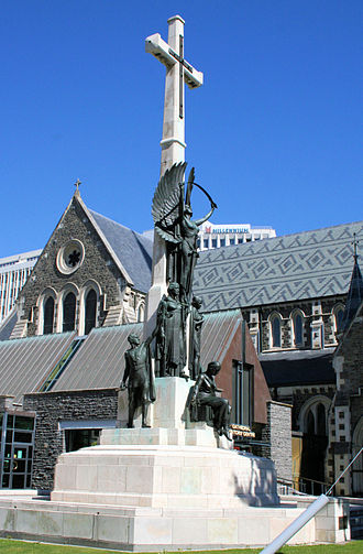 William Trethewey - Citizens' War Memorial in front of the Cathedral