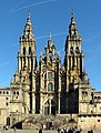 Cathedral of Santiago de Compostela - Catedral de Santiago de Compostela - panoramio.jpg