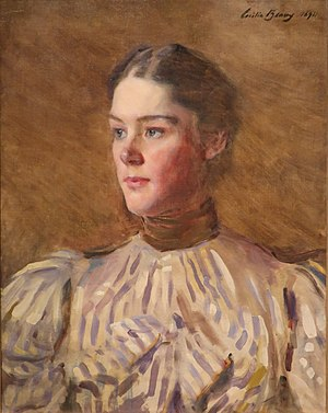 Cecilia Beaux - Self-portrait by Beaux, 1894