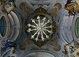 Ceiling and candelabrum in the Palazzina di Caccia of Stupinigi.jpg
