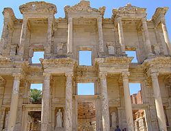 The Roman Celsus Library.