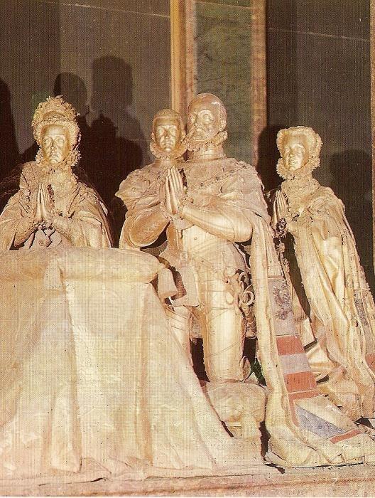 Cenotafio de Felipe II y su familia