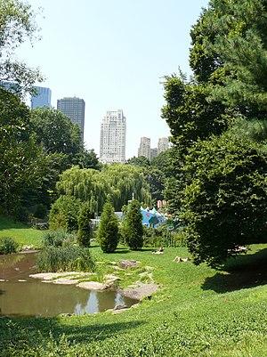 Central Park is a large public, urban park in ...