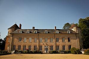 Vitry-aux-Loges - The Château du Plessis-Loiret, in Vitry-aux-Loges