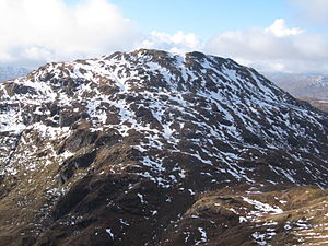 Beinn Chabhair - Beinn Chabhair viewed from below Beinn a' Chroin