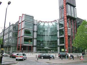 Media of the United Kingdom - The Channel 4 building London