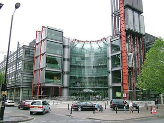 Media of the United Kingdom - The Channel 4 building in London
