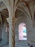Chapter house, Abbaye de Silvacane, La Roque d'Anthéron