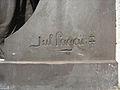 Charleroi - monument - a nos martys - signature Jules Lagae.jpg