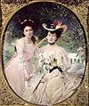 Chartran Madame Collas and her Daughter Giselle 1903.JPG