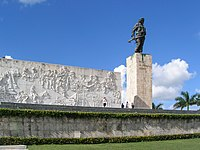 Che Guevara's Monument and Mausoleum in Santa Clara, Cuba.