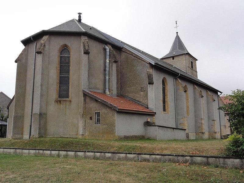 Chenières (Meurthe-et-M.) église