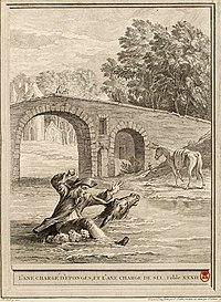 Chenu-Cochin-Oudry-L'âne chargé d'éponges et l'âne chargé de sel.jpg