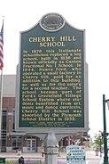 Cherry Hill School historical marker