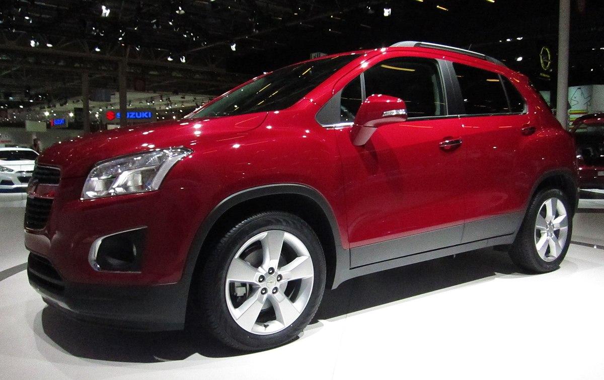 Citroen C4 Cactus >> Chevrolet Trax - Wikipedia