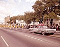 Chevy Impala in Governor Kirk's inauguration parade on January 3, 1967 in Tallahassee.jpg