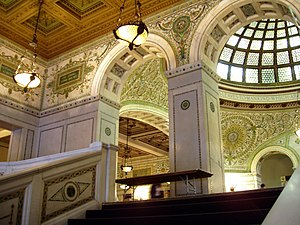Cultural center - Chicago Cultural Center