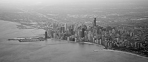 East Lake Shore Drive District - Image: Chicago bw