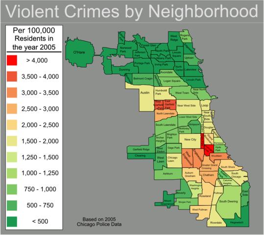 Chicago Urbanist: Desirable walkability