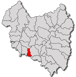Location of Chichiș