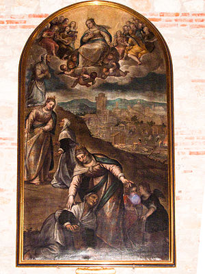 Giovanni Battista Maganza - Altarpiece for church of San Giorgio, Vicenza