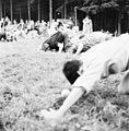 Children's games at Seattle City Light Employee Association picnic, 1954.jpg
