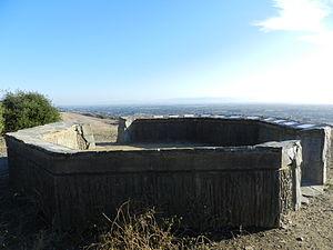 San Leandro, California - Stone circle, Children's Memorial Grove.