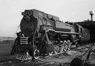 2-10-2 - The first QJ class locomotive