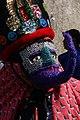 Chinelo dancer, Mexico City fiesta.jpg