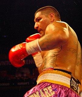Chris Arreola American boxer