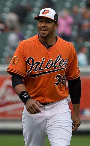 Chris Dickerson (baseball) - Dickerson with the Baltimore Orioles