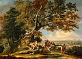 Christian Wilhelm Ernst Dietrich (1712-1774) - Saint Boniface Felling the Sacred Oak - NG 619 - National Galleries of Scotland.jpg