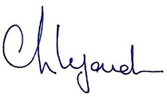 Christine Lagarde - Image: Christine Lagarde Signature