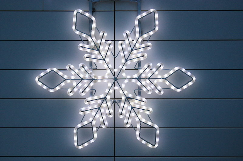 File:Christmas light in form of a star.jpg