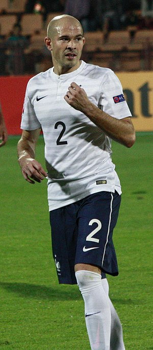 Christophe Jallet - Jallet playing for France in 2014