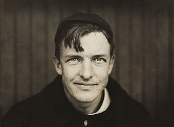 From 1903 to 1908, Christy Mathewson led the National League in strikeouts in five of six years. Christy Mathewson2.jpg