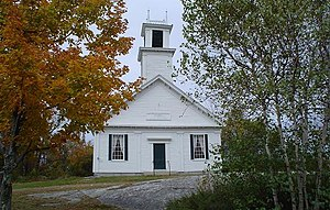 New Durham, New Hampshire - Image: Church, New Durham, NH