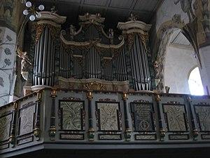 Johann Gottfried Bernhard Bach - The organ of the Jakobikirche in Sangerhausen